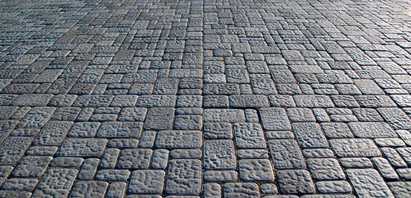 Hormigón impreso tipo piedra