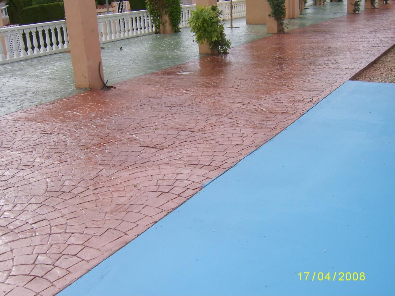 Obra pavimento en Mascamarena