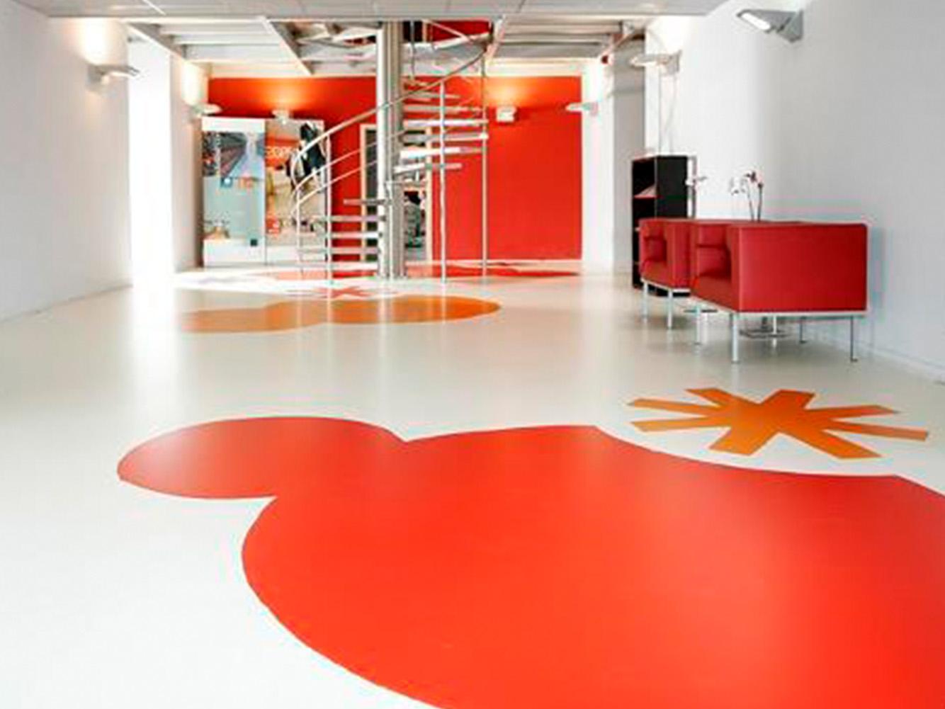Oficinas Valencia suelo resina epoxi